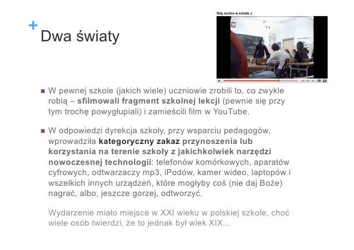 Cyfrowi tubylcy i imigranci Slide 2
