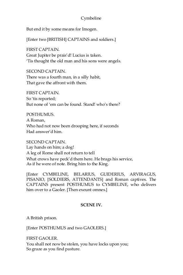 Lyric lyric wake hillsong : Cymbeline - william shakespeare