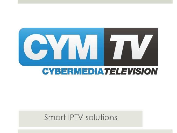Smart IPTV solutions