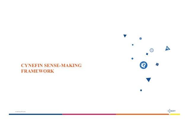 Cynefin sensemaking framework and usage examples Slide 3