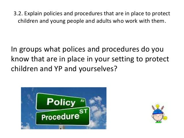 understand the importance of ensuring children and young people s safety and protection in the work  Free essays on understand the importance of ensuring children and young people s safety and protection in the work place 1 through 30.