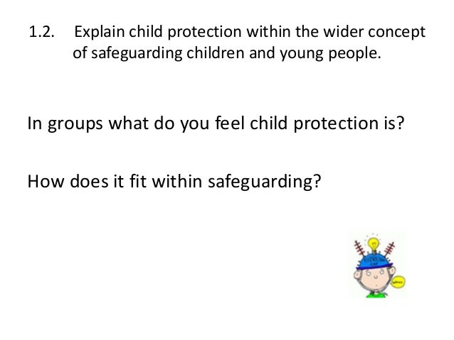 cyp 3 3 understand how to safeguard Free essay: cyp 33 – 72 describe ways of reducing risk to children and young people from: social networking, internet use, buying online and using a mobile.