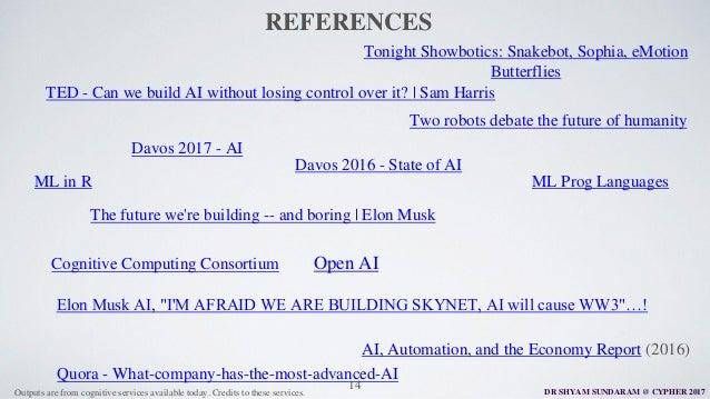 Cypher 2017 - Keynote Presentation - SHYAM SUNDARAM - Bajaj