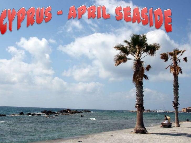 Cyprus - April seaside <br />