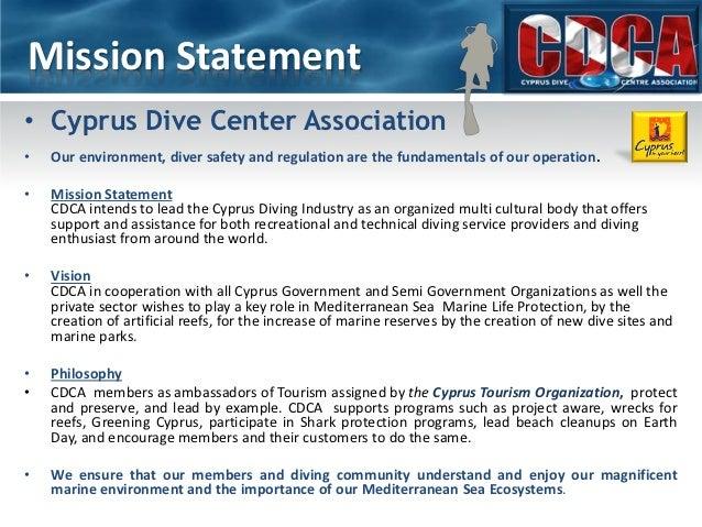 Cyprus dive center association presentation pdf Slide 2