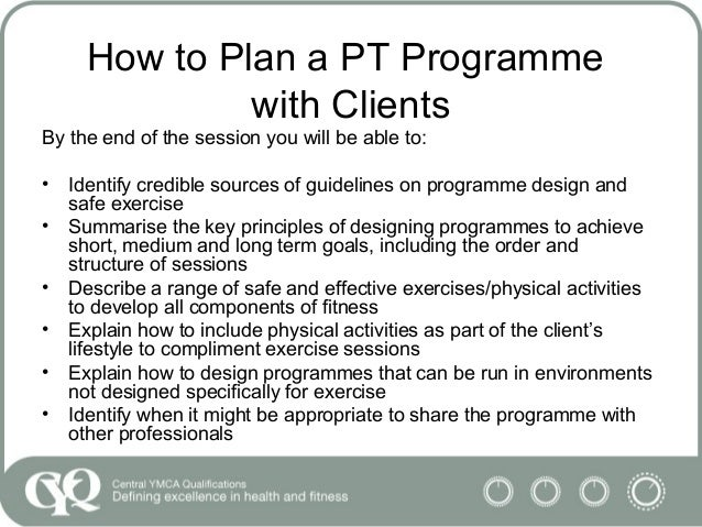 Programme 61 How To Plan