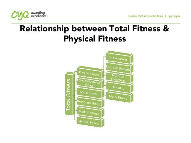 Relationship Between Total Fitness 11 The Components