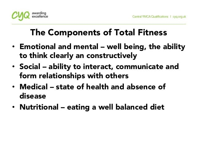 12 The Components Of Total Fitness