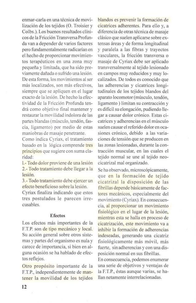 TRAUMATISMO  t  p~RurR~~~:S r MO~?t),I€:~TO l STRUCTURAS IOOLOR 1  REA CION INFLAMATORIA ADHERENCIAS  HIPEREMIA 1 EXUDADO ...