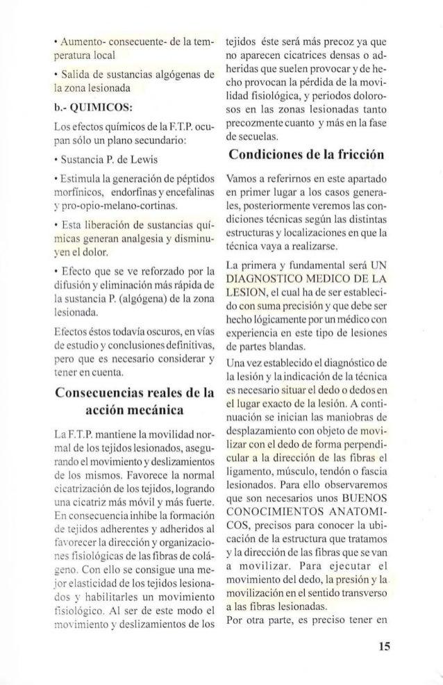 """EfECTOS MECÁN1COS  l·  H1PEREM1A TRAVMATlCA """"EN EL PVNTO  DE LA LES1ÓN""""  """"MOV1M1ENTO TERAPEVTlCO"""" EV1TANDO O  llBERANDO AD..."""