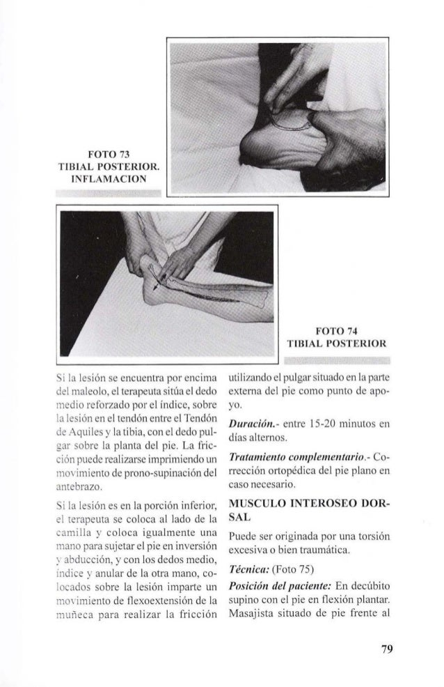 Cyriax masaje-transverso-profundo