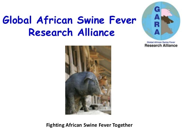 Global African Swine Fever Research Alliance Fighting African Swine Fever Together