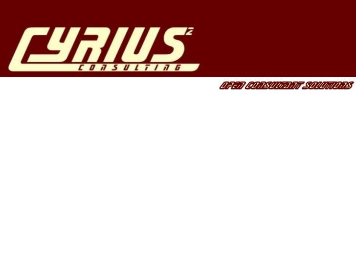 Cyrius2, una società di consulenzaorganizzativa e tecnologica, che si proponecome Partner in grado di aiutare i propri Cli...