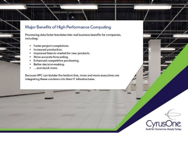 Looking Under the Hood of the High Performance Computing Industry