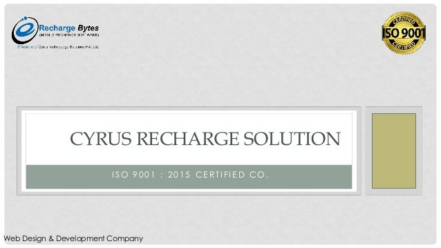 Cyrus Recharge Solution Mobile Recharge Software