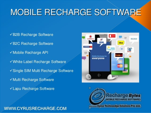 Cyrus recharge solutions mobile recharge software company