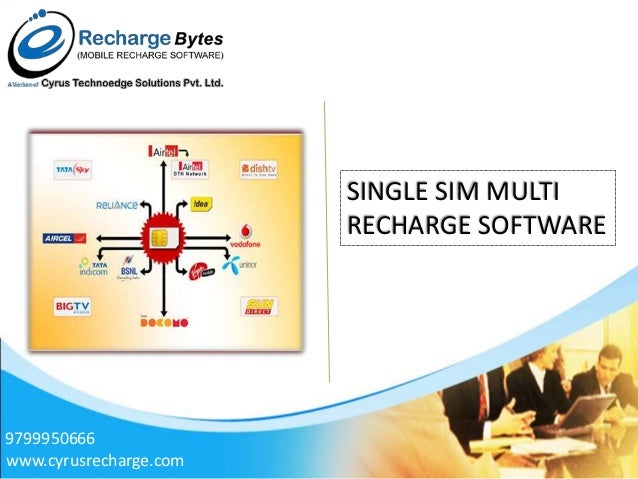 Cyrus recharge solutions mobile recharge software