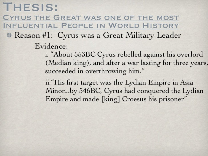 cyrus the great leadership Kids learn about the biography of cyrus the great from ancient mesopotamia he  established the first persian empire and released the jews from exile.