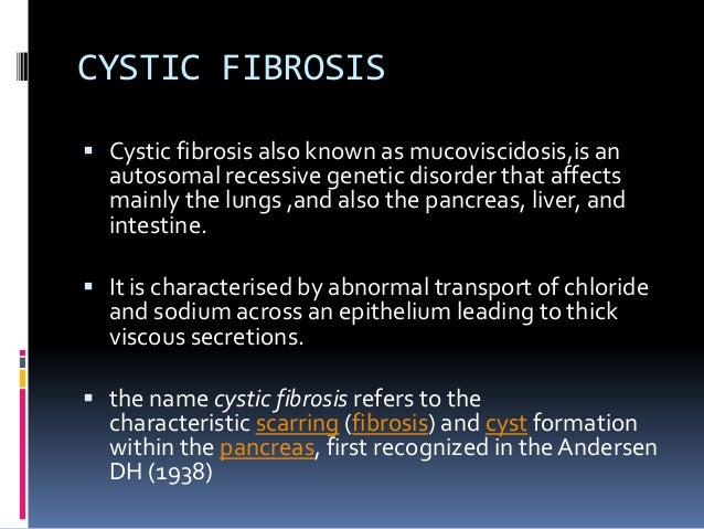 characteristics of cystic fibrosis Can cystic fibrosis be diagnosed without genetic screening yes, there are several tests for diagnosing cystic fibrosis some include a sweat test and a .