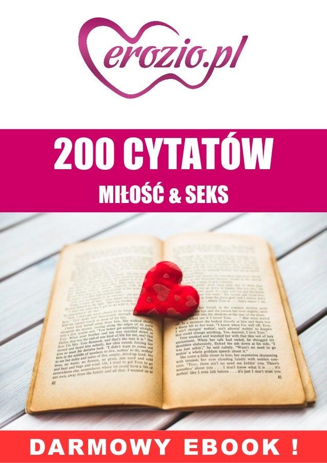 Cytaty Miłość I Seks Ebook