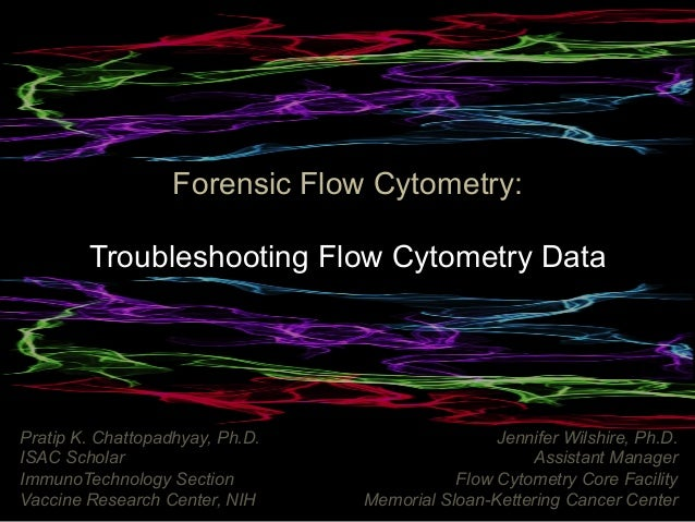 Cyto 2015 Forensic Flow Cytometry Tutorial