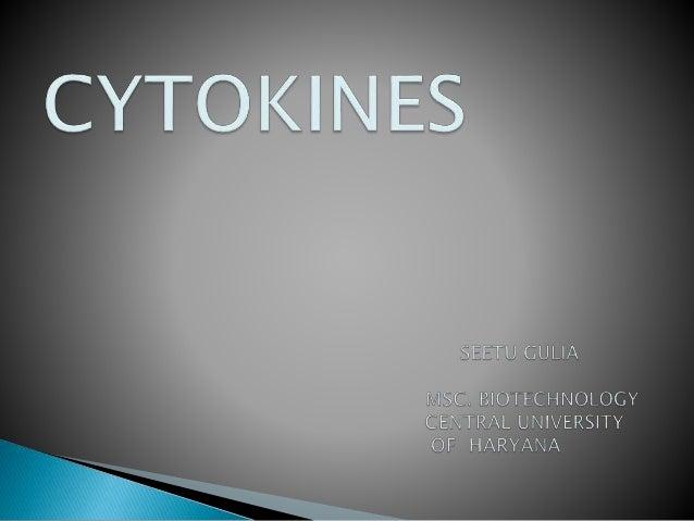 Cytokines ppt