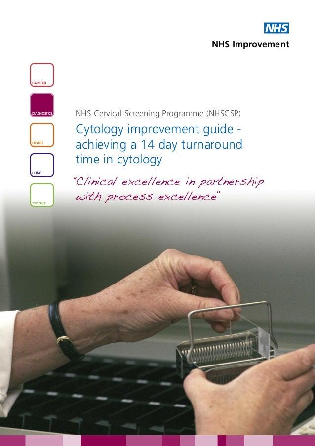 NHS                                               NHS ImprovementCANCERDIAGNOSTICS              NHS Cervical Screening Pro...