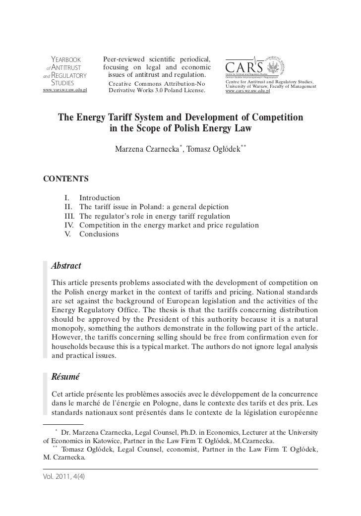 YEARBOOK              Peer-reviewed scientific periodical, of ANTITRUST             focusing on legal and economicand REGU...