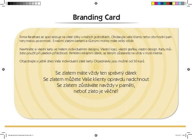 (CZECH) KARATBARS INTERNATIONAL IMAGE BROCHURE Slide 2