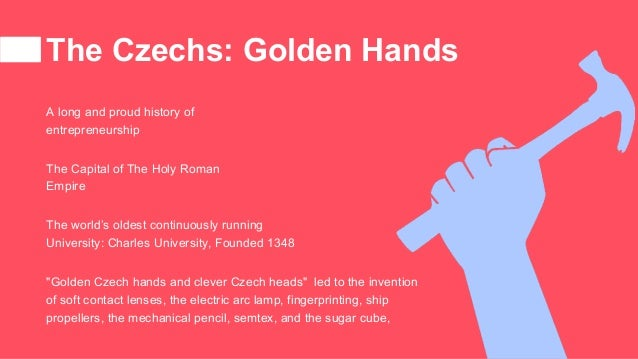 """The Czechs: Golden Hands """"Golden Czech hands and clever Czech heads"""" led to the invention of soft contact lenses, the elec..."""