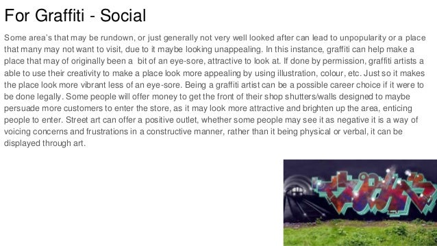 Opinion essay about graffiti good job skills on resume
