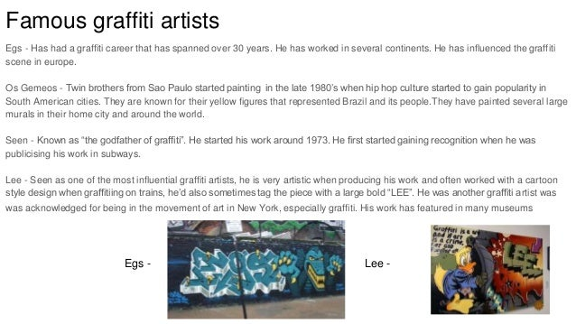 graffiti is an art form essay