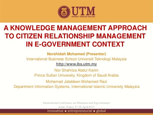 citizen relationship management system