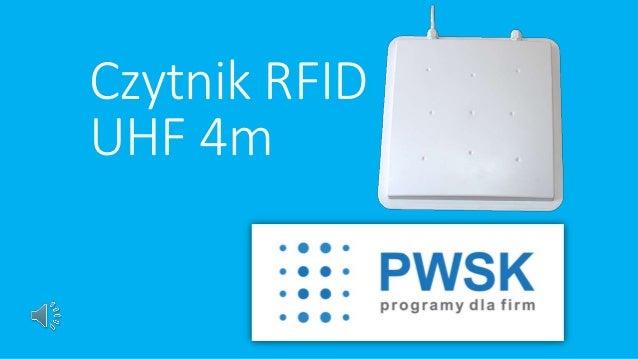 Czytnik RFID  UHF 4m
