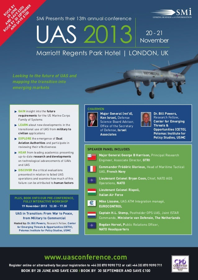 SMi Group's 13th annual UAS conference