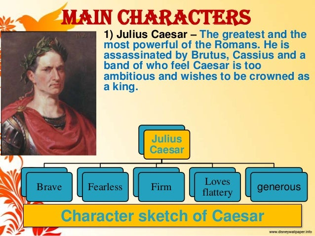 character analysis of julius caesar essay