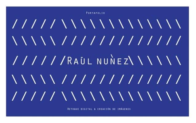 Raúl Nunez Portafolio 2015
