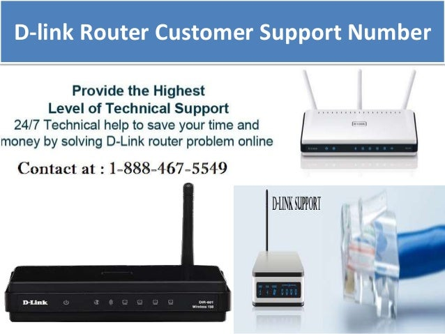 D-link Router Customer Support Number