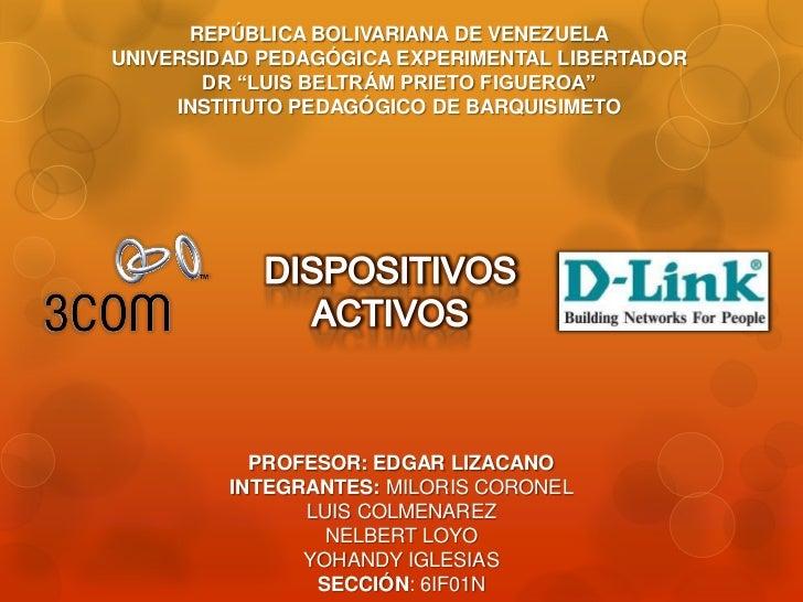 """REPÚBLICA BOLIVARIANA DE VENEZUELAUNIVERSIDAD PEDAGÓGICA EXPERIMENTAL LIBERTADOR       DR """"LUIS BELTRÁM PRIETO FIGUEROA""""  ..."""