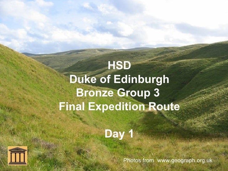 HSD Duke of Edinburgh Bronze Group 3  Final Expedition Route Day 1 Photos from  www.geograph.org.uk