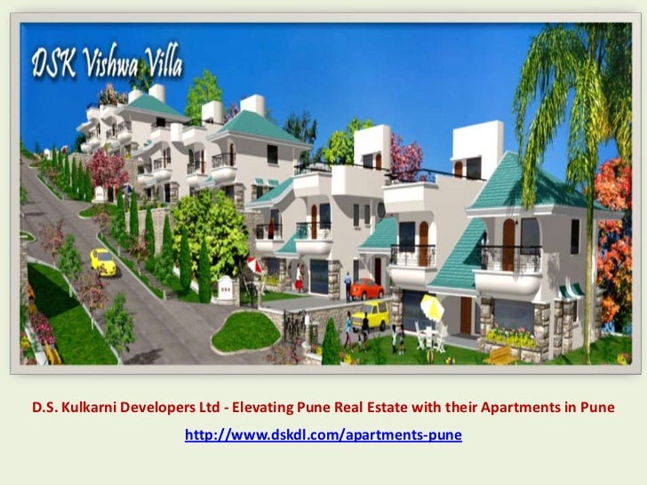 D.S. Kulkarni Developers Ltd - Elevating Pune Real Estate with their Apartments in Pune                      http://www.ds...