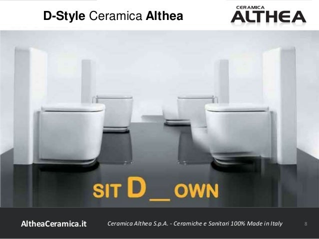 Ceramica Althea Spa Civita Castellana.D Style Ceramica Althea
