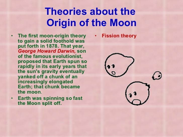 theories of the origin of the moon New moon origin of the earth the moon references to the moon in 'moon palace' scott's experience on the moon in waliking on the moon by david r scott the moon is down the moon the moon theories of the origin of the moon was the moon part of the earth.