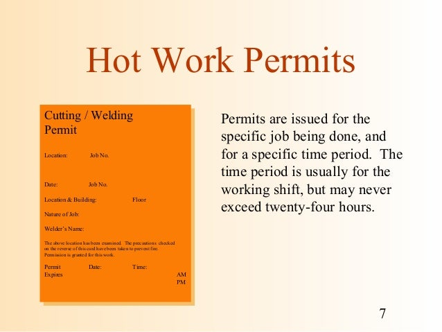hot work safety training pdf