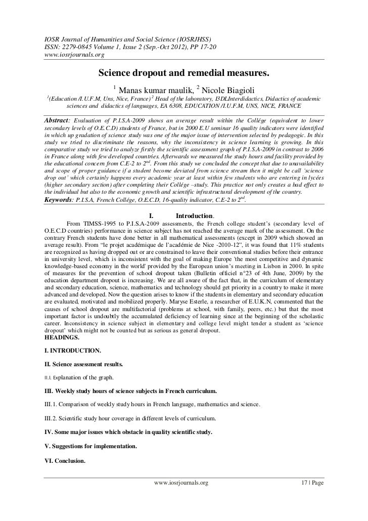 IOSR Journal of Humanities and Social Science (IOSRJHSS)ISSN: 2279-0845 Volume 1, Issue 2 (Sep.-Oct 2012), PP 17-20www.ios...