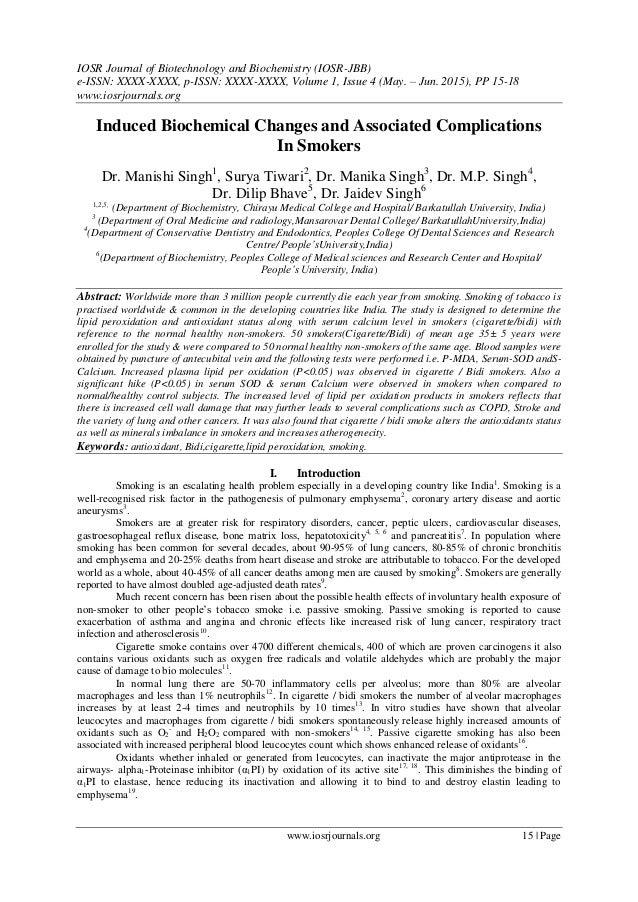IOSR Journal of Biotechnology and Biochemistry (IOSR-JBB) e-ISSN: XXXX-XXXX, p-ISSN: XXXX-XXXX, Volume 1, Issue 4 (May. – ...