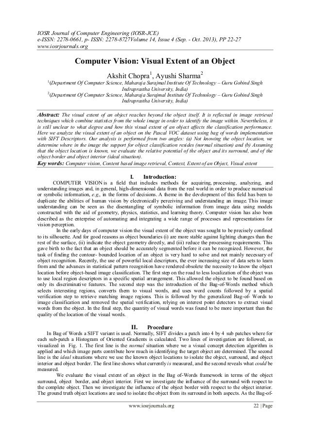 IOSR Journal of Computer Engineering (IOSR-JCE) e-ISSN: 2278-0661, p- ISSN: 2278-8727Volume 14, Issue 4 (Sep. - Oct. 2013)...