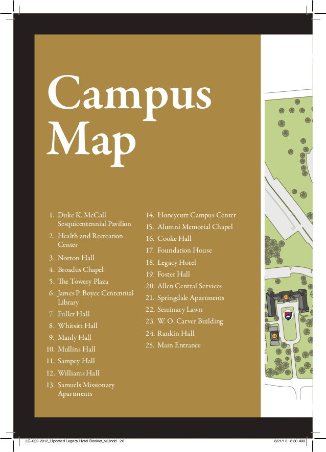 JacobDavis-HotelPromo Booklet on boyce college campus map, sbvc campus map, intel campus map, swbts campus map, sbcc campus map, church campus map,