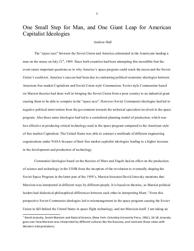 Space Exploration Essay | Argumentative Essay Sample & Example