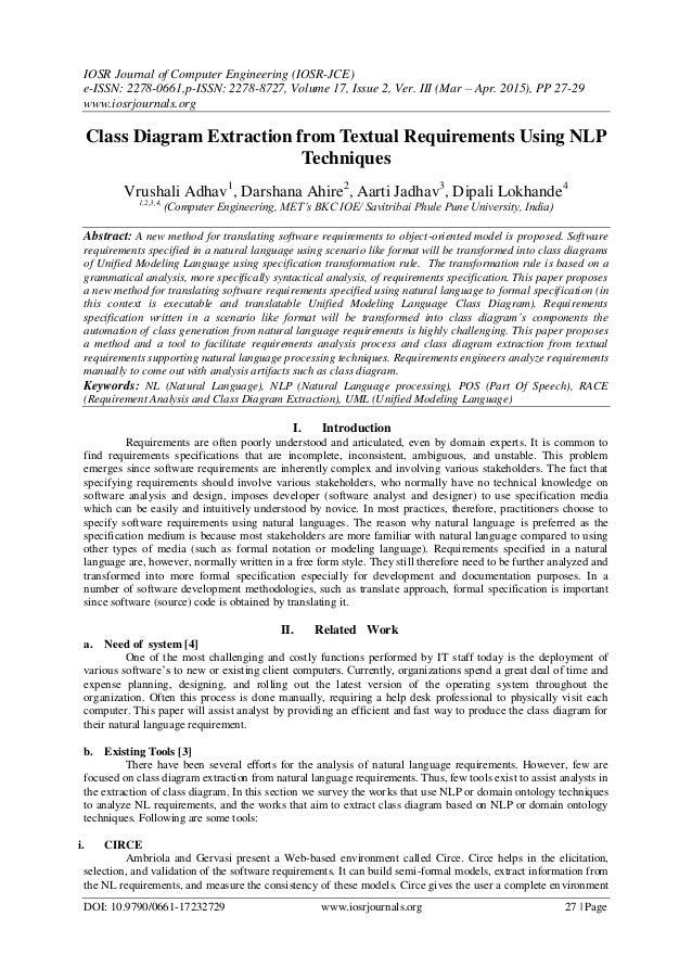 IOSR Journal of Computer Engineering (IOSR-JCE) e-ISSN: 2278-0661,p-ISSN: 2278-8727, Volume 17, Issue 2, Ver. III (Mar – A...